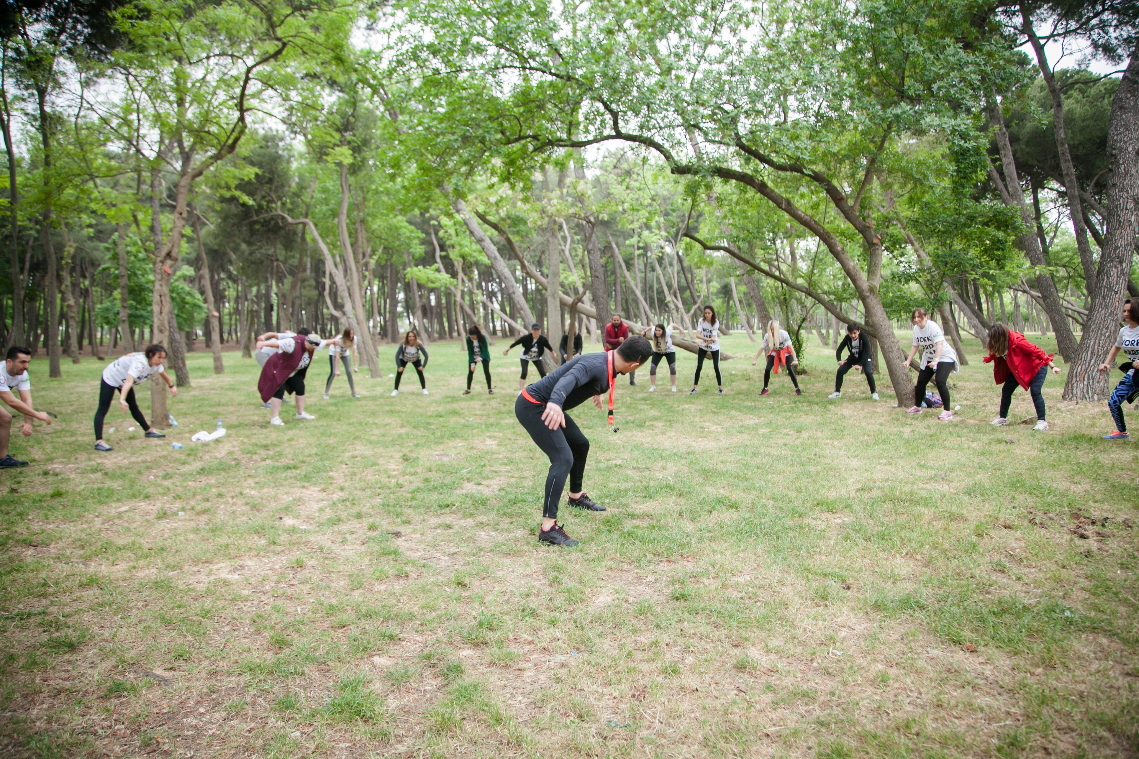 Fitness Salonu Grup Eğitimi