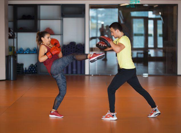 Fitness Salonu Kick Boks